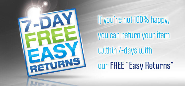 Free Easy Returns