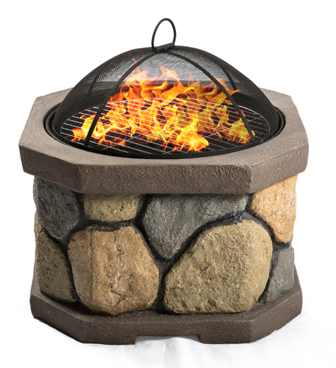 Centurion Supports Fireology BOGOTA Bold Garden & Patio Heater Fire Pit Brazier and Barbecue