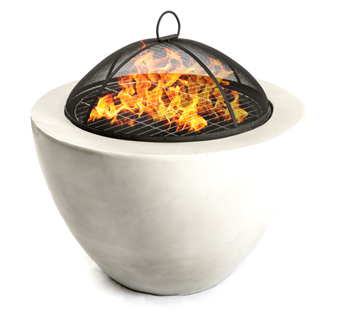 Centurion Supports Fireology DIABLO Contemporary Garden & Patio Heater Fire Pit Brazier and Barbecue