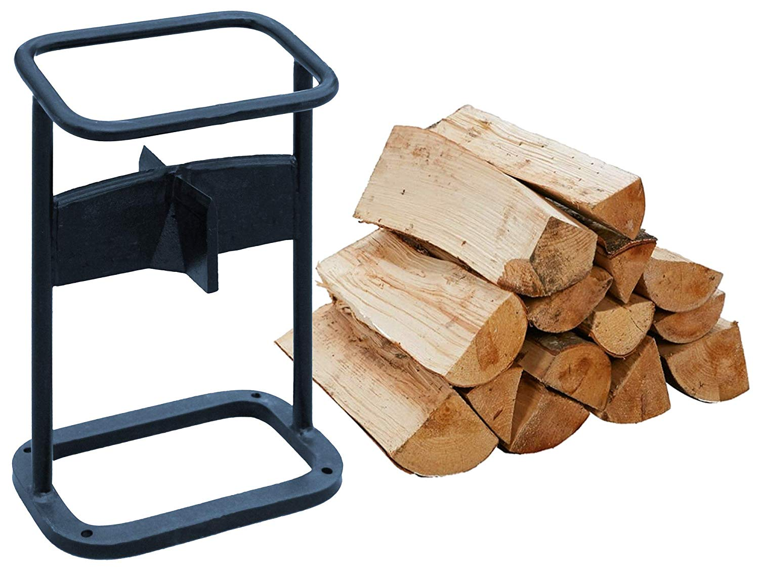 Centurion Supports eZee Splitter - Premium Firewood Kindling Splitter with 4-Way Blade