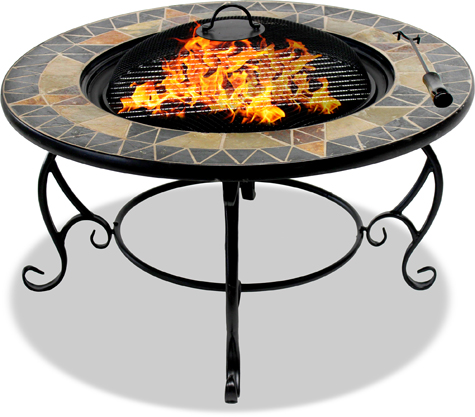 Centurion Supports Fireology PALANGA Garden & Patio Fire Pit, Brazier, Coffee Table, Barbecue and Ice Bucket