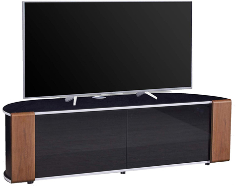 MDA Designs Sirius1600 Walnut/Oak Reversible BeamThru TV Cabinet